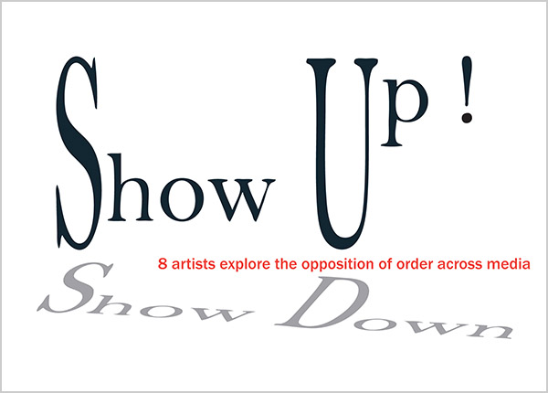 Show Up Show Down show card